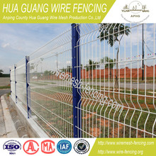 coated border green garden wire mesh fence