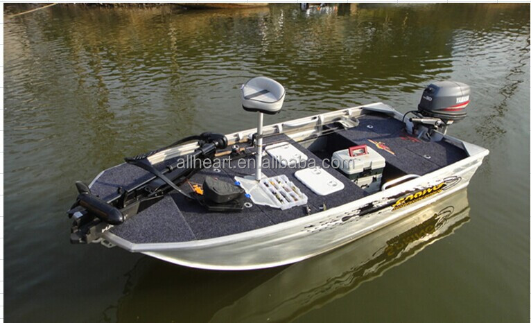 Aluminium Fishing Boat And Bow Mount Trolling Motor Trailer Bass Boat - Buy Bow Mount Trolling ...