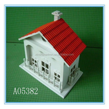 Hot selling wholesale colorful wooden bird house design