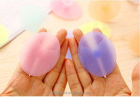 face cleansing brush, silicone facial brush, silicone facial cleansing brush super soft exfoliate clean blackheads OEM ODM