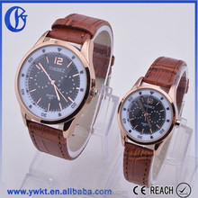 2015 high quality couple lover wrist watch