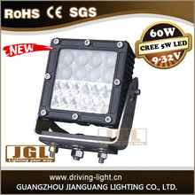 square 6inch work led light combo 4 rows led work lamp supplier