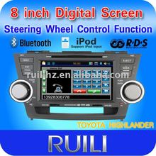 special in dash dvd player for toyota highland