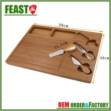 2015 NEW design beautiful bamboo wood cutting board