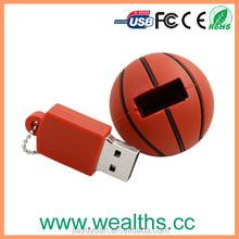 OEM PVC basketball 16gb usb flash drive