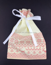 non woven drawstring bag for gifts packing