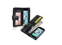 Fashion New Design Flip Leather Case for iPhone 5C Case