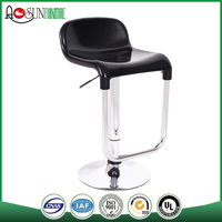Hot selling ISO 9001 certified Plastic high end bar stools