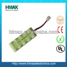 Ni-cd AA 700mAh battery 6 volt Battery Pack