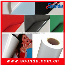 China Supplier transparent self adhesive vinyl film for window