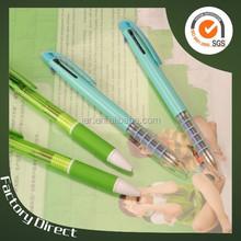 three color cosmetic erasable click pen(X-8850)