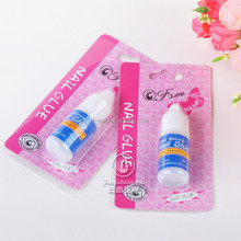 factory direct sale for nail tips nail glue transparent