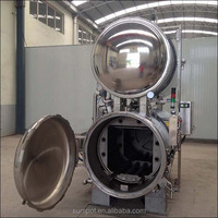 full-automatic industrial ready to eat steaming retort sterilizer