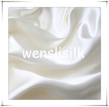 Hot Sale Natural Pure Dyeing Silk Fabric Satin Silk