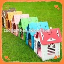 Colorful outdoor new solid house dog plastic