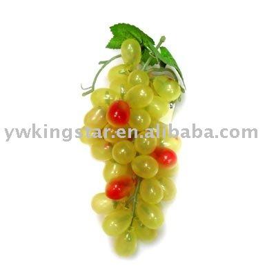 Artificielle raisin grappe, Fruits artificielle décorative, Imitation fruits, Fruits décoration, En plastique raisins