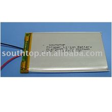 Super thin Lithium Polymer Battery Cell with protection circuit,used for mobile phone,electric toys