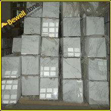 First Selection CE Statuario Venato tiles polished Statuario marble slab