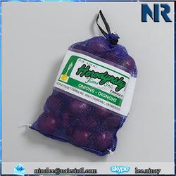Leno sack Leno mesh bag for potatoes,raschel mesh bag