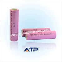 Wholesale Alarm Security System Battery / 18650 3.7v 2600mAh Li-ion Battery