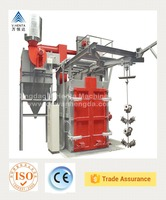Best Design V.HENTA Q376 Double Hooks Shot Blasting Machine