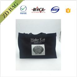 black 10oz Canvas Bulk Tote Bags , Plain Eco Cotton Bags,organic canvas tote bag plain