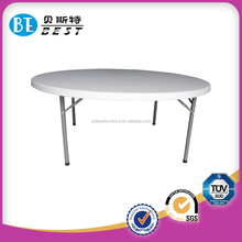 2015 New Design Folding Round Plastic Table