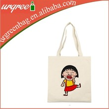 Customized 100% blank cotton canvas tote bags