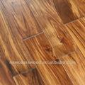 sólido corta de la hoja de madera de acacia piso