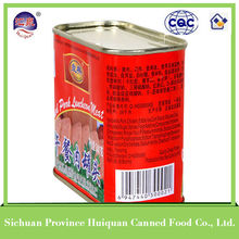Wholesale High Quality canned meat products pork luncheon meat
