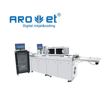 Digital ink jet printing and variable data printing machine