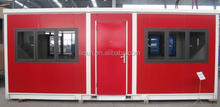 stackable container house steel prefabricated houses shop