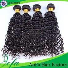 Wholesale posh wave hair deep curly brazilian hair with closure