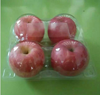 2015 New plastic apple fruit tray made in china, fruits and vegetables packing
