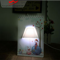 Page book light Innovative stylish portable digital advertising board