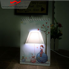 Page book light Innovative stylish portable digital advertising board