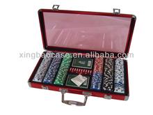 Poker chip trolley case,Aluminum chip case,poker chip case