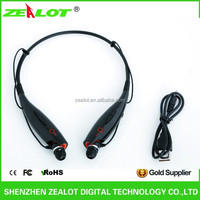 Factory Direct sell Hot Wireless Bluetooth Headset Headphone Bluetooth V3.0+EDR+class2 For Mobile Device
