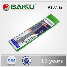 Baku Rxcellent Quality 2015 New Style Assist Factory Led Light Tweezer With Mirror For Iphone