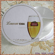 best selling absorbent paper christmas coaster with cheaper price