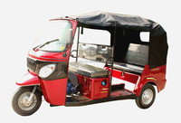 175cc Three Wheels Motor Cycle / 2015 New Model Tricycle for passengers / Petro Rickshaw
