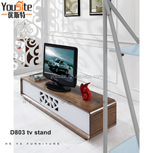made in turkey furnitures wooden lcd tv stand design D803