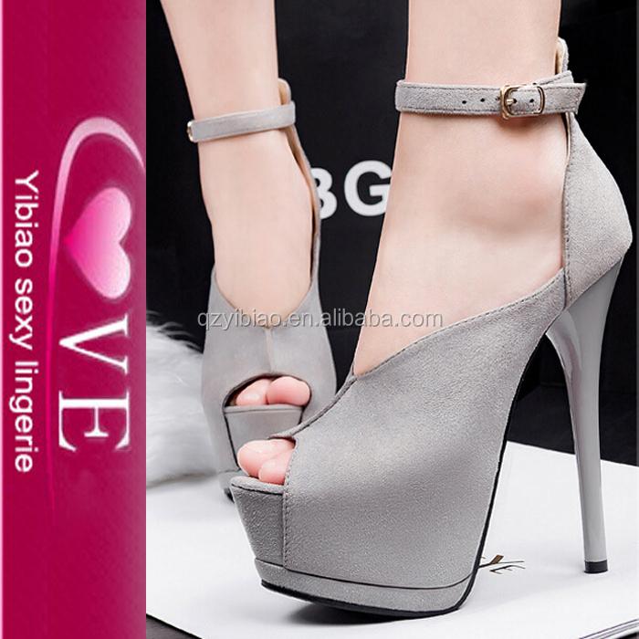 usine directe meilleure colorfuls de qualité mode en daim à bout ouvert chaussures à talons hauts femmes
