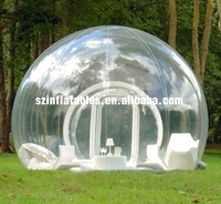 2015 inflatable camping tent/inflatable clear bubble tent/dome tent for sale
