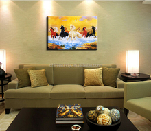 Wholesale Animal Stretched Canvas Painting Wall Art