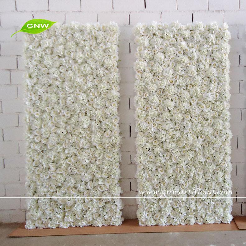 Gnw 2 M Mariage Fond De Sc Ne D Coration Avec Mur De Fleur De Soie Artificielle Hortensia Rose