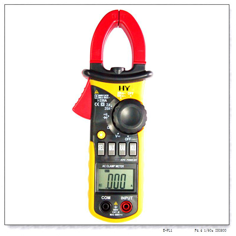 Pocket Clamp Meter : Mini pocket digital ac clamp meter with auto and manual