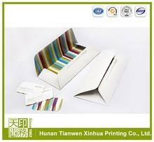 gold mailing high quality brown kraft paper envelope supplier