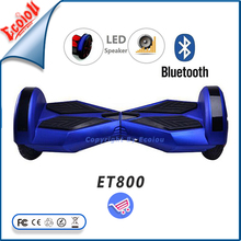 2015 newest blue beautiful pictures two wheels smart electric balance scooter