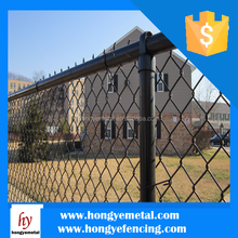 Heavy Duty Galvanized Chain Link Fence For Reside